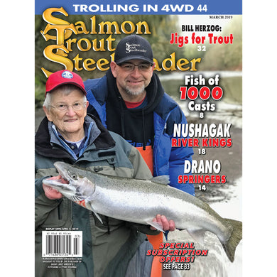 2-Year Salmon Trout Steelheader Subscription | Postage Paid