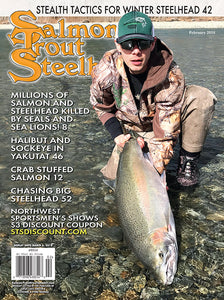 3-Year Salmon Trout Steelheader Subscription + Your Choice of Fillet Knife or Spinning Reel