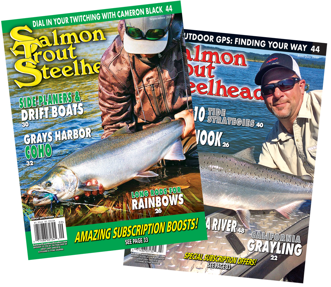 3-Year Salmon Trout Steelheader Subscription | Postage Paid