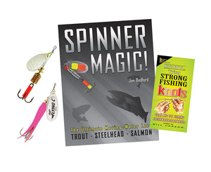 Mepps Spinners, Spinner Magic Book & Tying Strong Fishing Knots Book