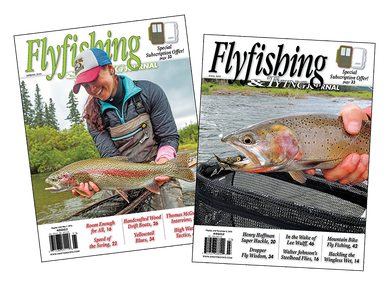 1 Yr. Subscription Boost: Flyfishing & Tying Journal | Postage Already Paid