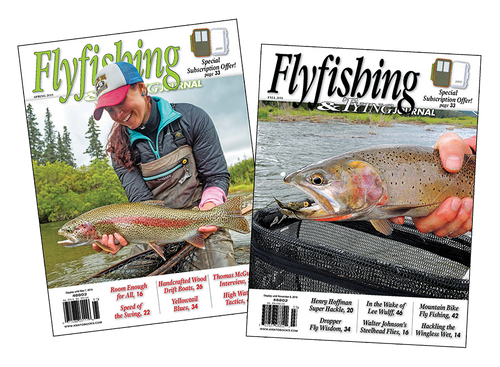 1 Yr. Subscription: Flyfishing & Tying Journal