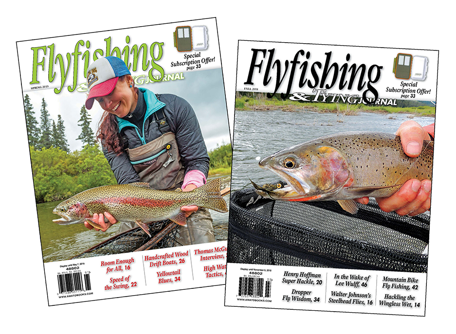 1 Yr. Subscription Boost: Flyfishing & Tying Journal