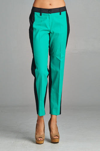 Women's Colorblock Capris