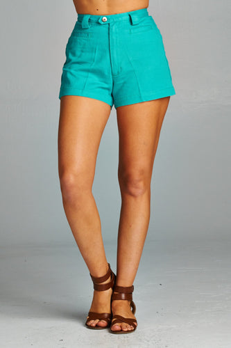Women's High Waisted Denim Shorts