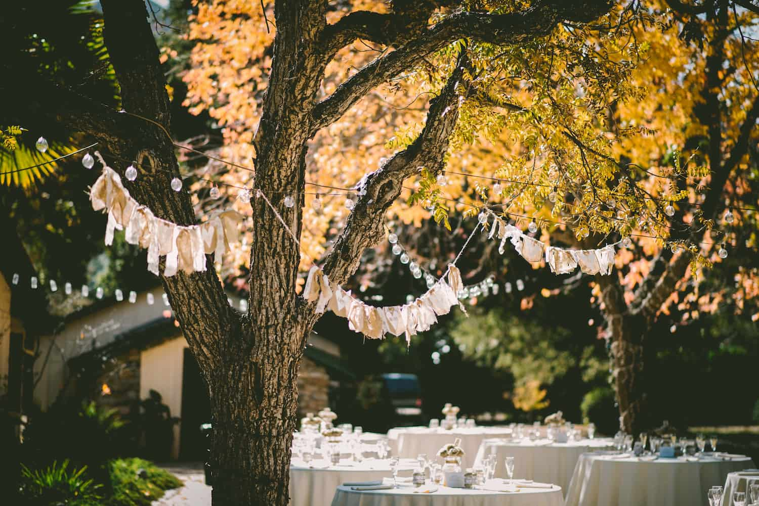 Rustic Wedding Outdoors
