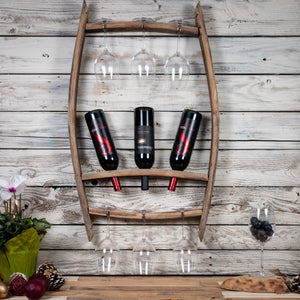 Wine Rack - 100% Oak Wood
