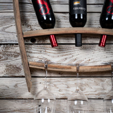 Barrel Stave Wine Rack