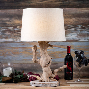Grapewood Branch Table Lamp