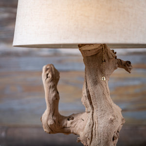 Natural Grapewood Lamp