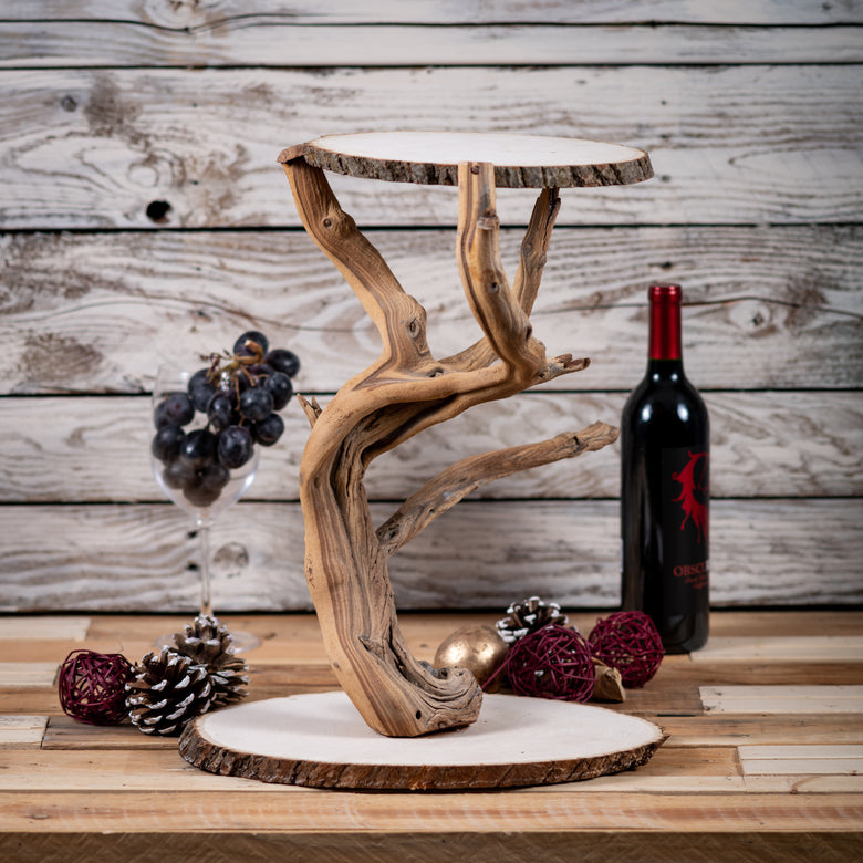 Grapewood Tree Cake Stand