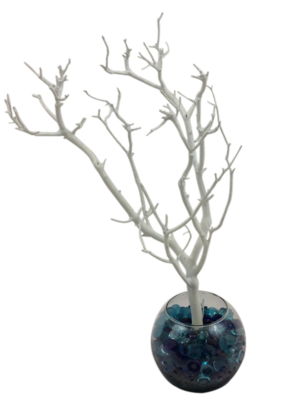 White Manzanita Jewelry Tree