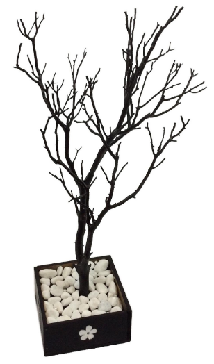 Black Summer Night Jewelry Tree
