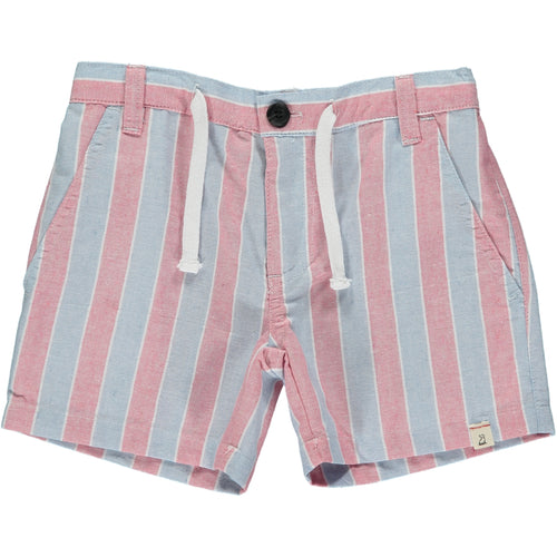 Blue/red stripe shorts
