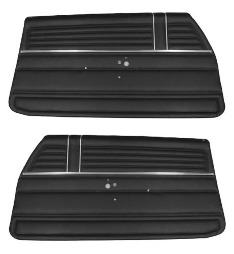 1968 Chevy El Camino Front Interior Door Panels