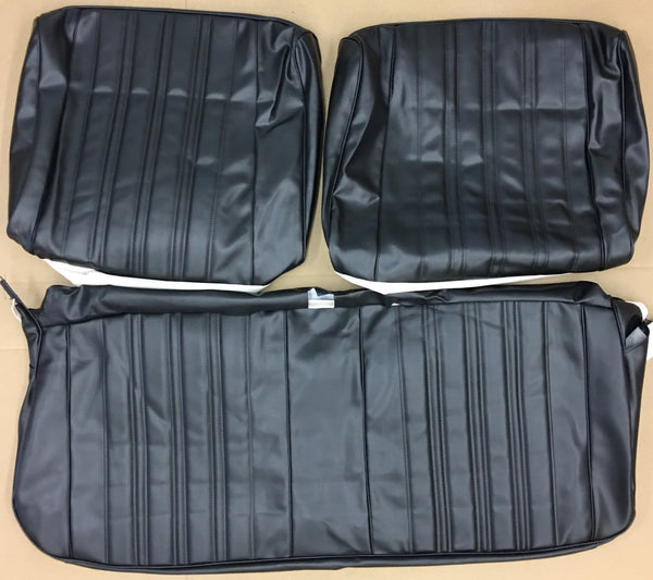 1966 Impala / SS Front Bench Seat covers in black 66BS10B ( In Stock )