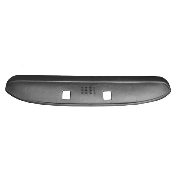 1967-1972 Ford F100 F250 F350 Molded Complete Black Dash Pad