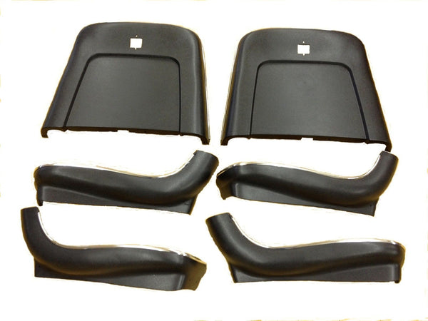 1969-1972 Seat Backs and Lowers Complete Set