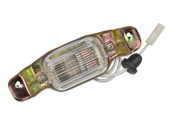 1970-1972 Monte Carlo License Plate Light Assembly