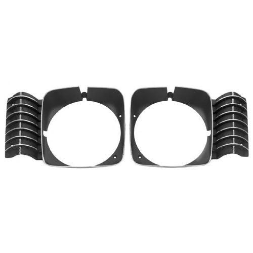 1969-1972 Nova Head Lamp Bezel Set