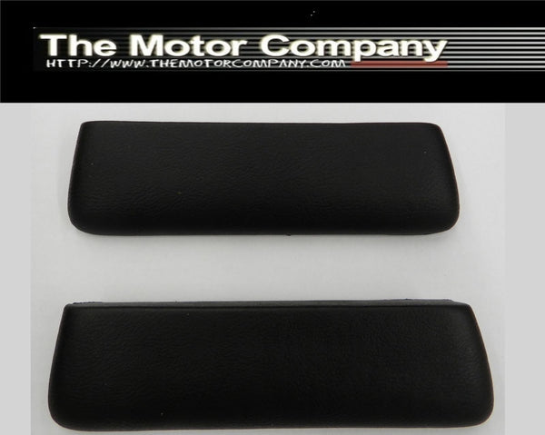 1964 Chevy Front Armrest Pads Black