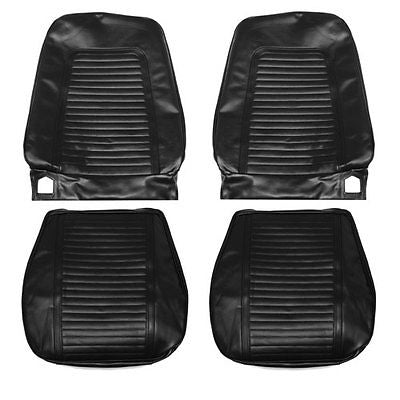 1969 Camaro Front Bucket Seat Covers Black PUI 69FS10U (In Stock)