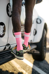 Pink Performance sock