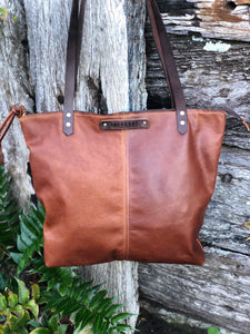 Centre Stitched Shoulder Bag