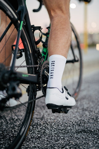 White Performance sock