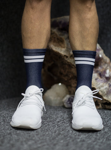 Navy Performance Sock
