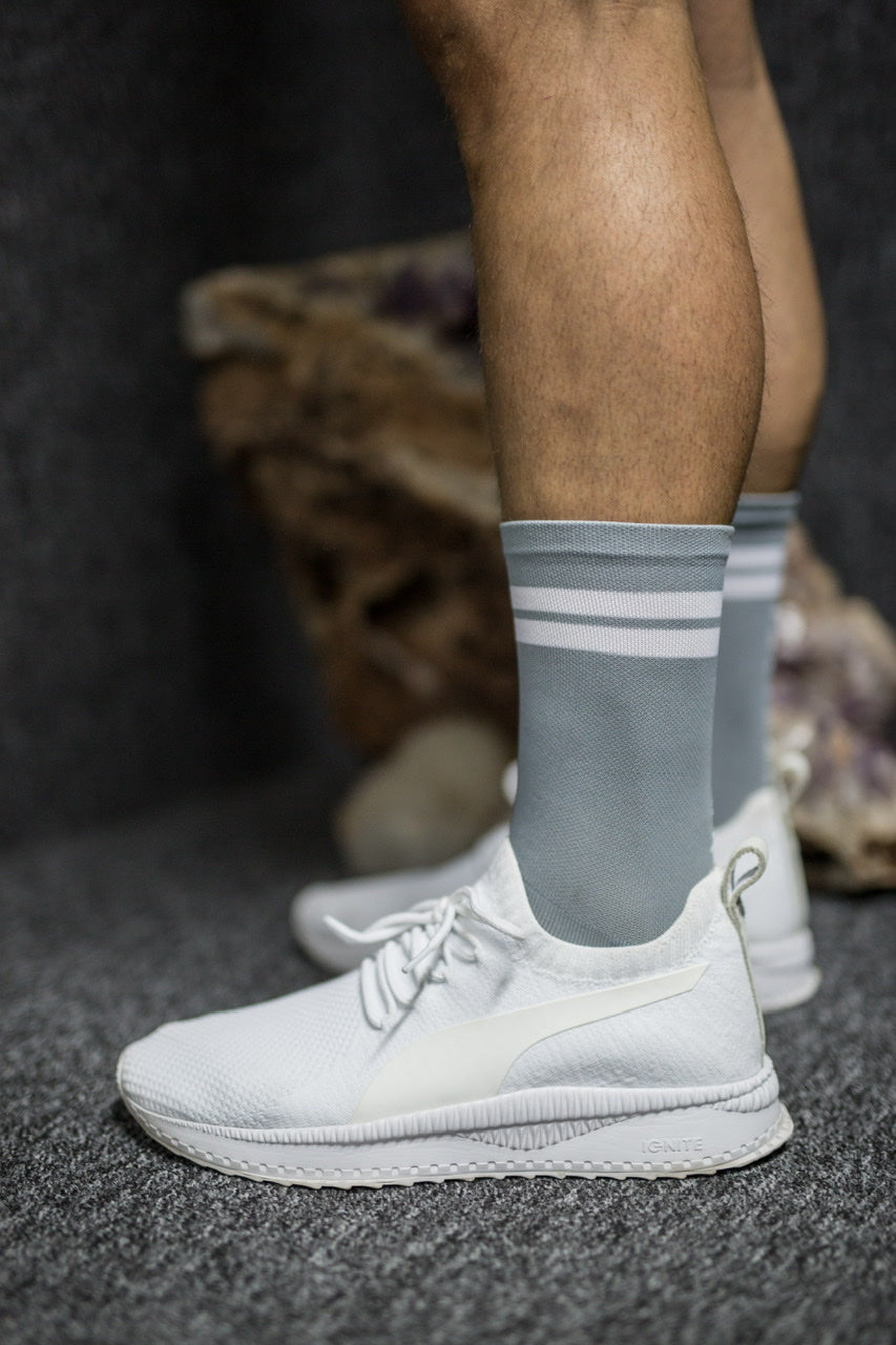 Grey Performance sock