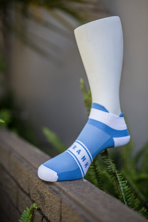 Short Baby Blue Sock