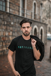 Mint/Black FATFRANK T