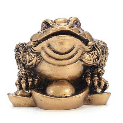 "Crapaud ""Belle Fortune"" Feng Shui"