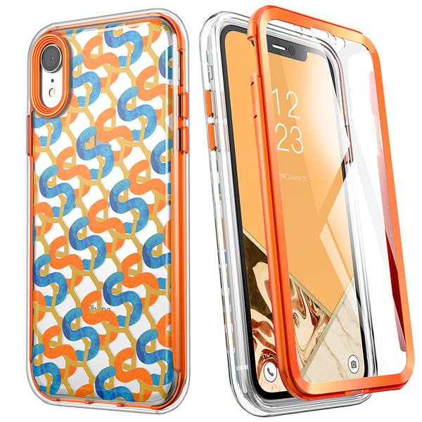 Stylish Patterned Case for iPhone XR