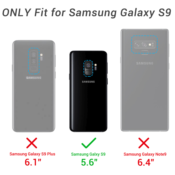 Galaxy S9 with Holder(No Screen Protector)
