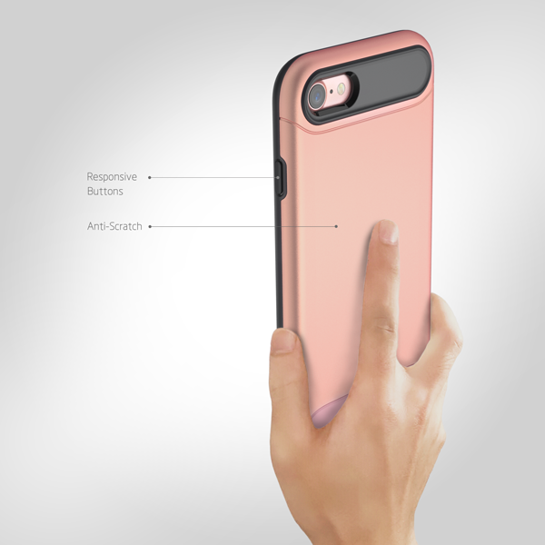 iPhone 7/8 with Two Kinds of Protection + Contrast Color