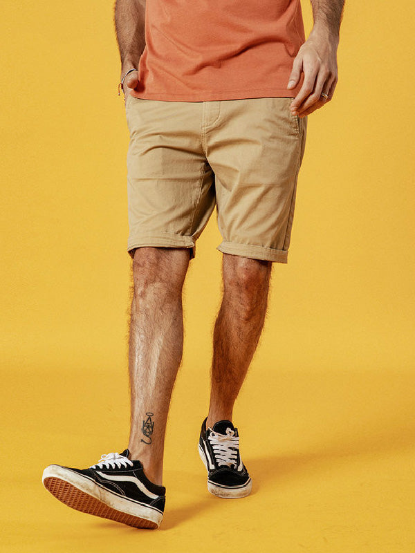 Solid Fashion Shorts Bottom