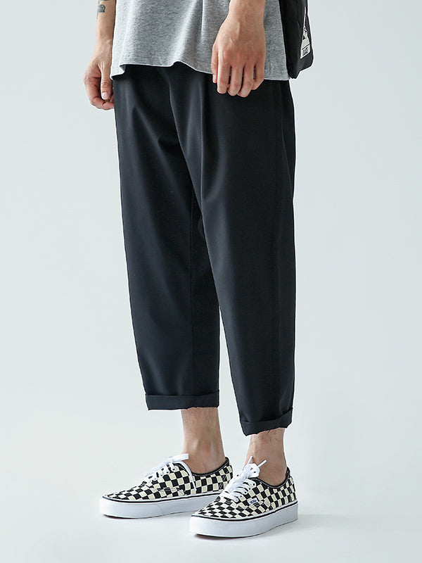 Solid Casual Men Pants