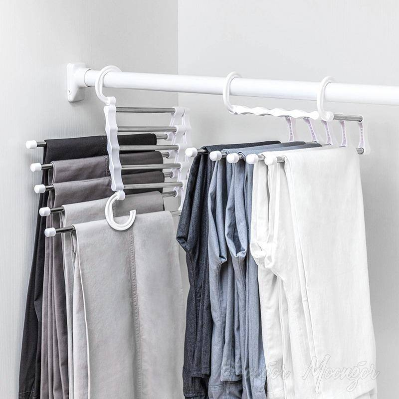 Multi-Storey Anti-Slip Clothes Drying Racks Hanger