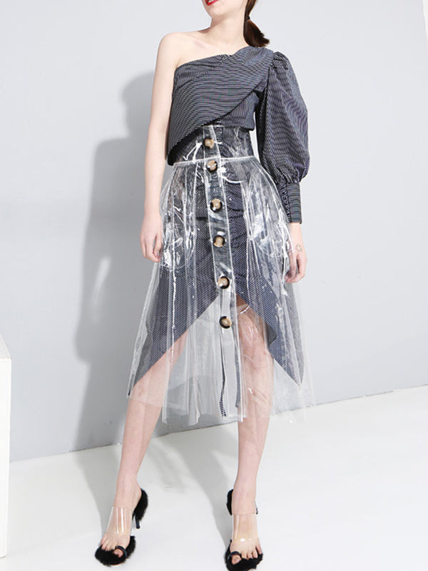 Casual Empire Transparent Skirt