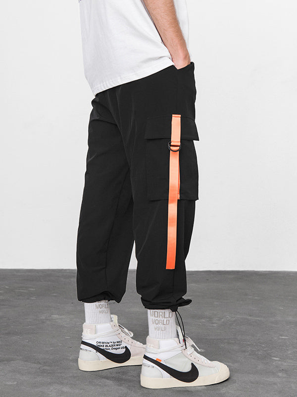 Trends Ankle Banded With-pockets Casual Pants