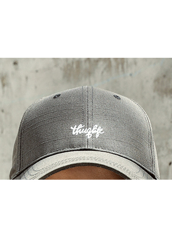 Couple Embroidery Letter Solid Baseball Hats