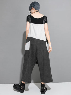 Fashion Split-joint Casual Pants Bottom