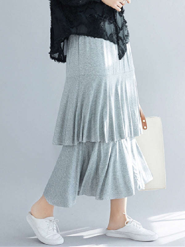 New Loose Falbala  Skirt