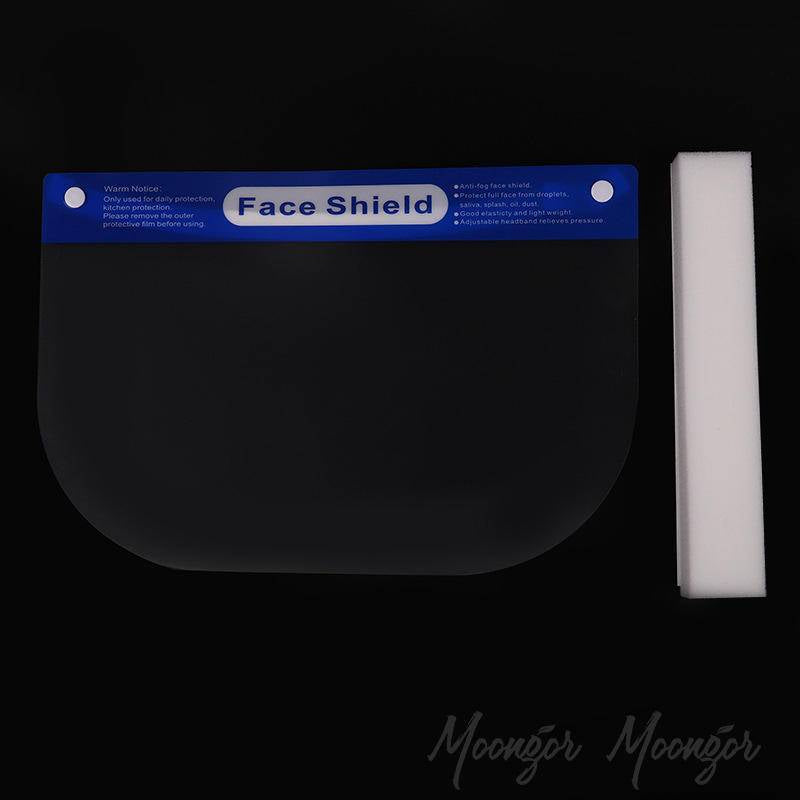 Anti-Dust Anti-Fume Transparent Full Face Shield Masks