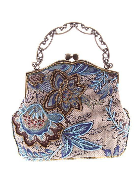 Embroidered Cheongsam bag Handbag