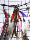 Tassels Feather Wooden Bead Headwear