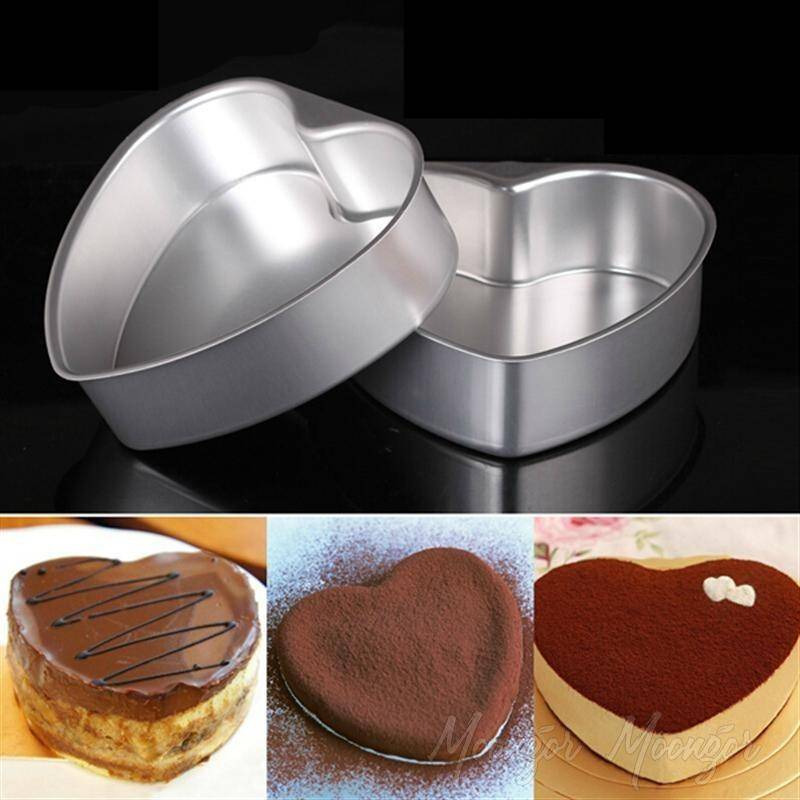 Love Heart Shape Aluminum Baking Mold Pan