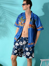 Loose Printed Men Shorts